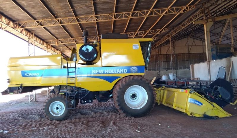 Colheitadeira New Holland TC 5090 ano 2014 full