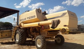 Colheitadeira New holland TC59 ano 2003 full
