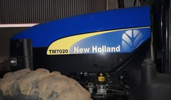 Trator New Holland TM 7020 ano 2010 full