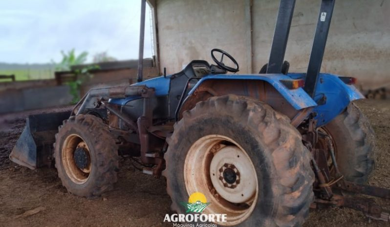 Trator New Holland TL 75 com concha – Ano 2004 full